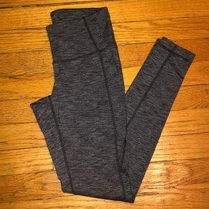 Athleta 7/8 Dark Grey Leggings